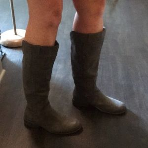 Unr8ed Gray Knee High boots 7M